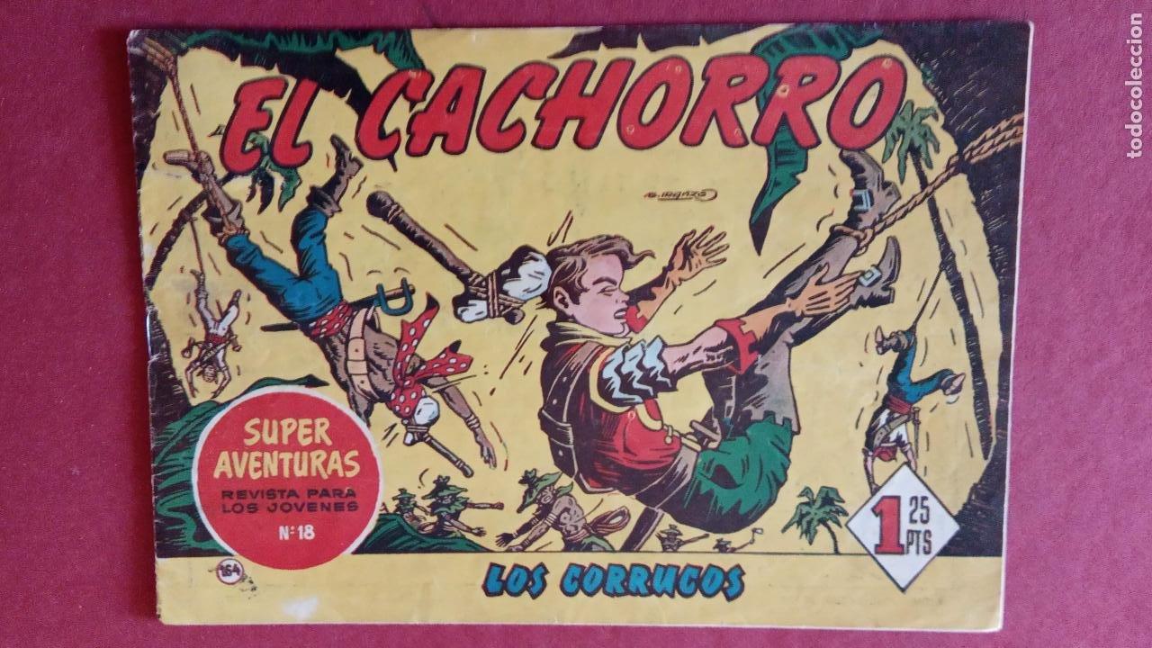 Tebeos: EL CACHORRO ORIGINALES 1951 BRUGUERA - 97 TEBEOS, VER TODAS LAS IMÁGENES DE PORTADAS Y CONTRAS - Foto 106 - 235576300