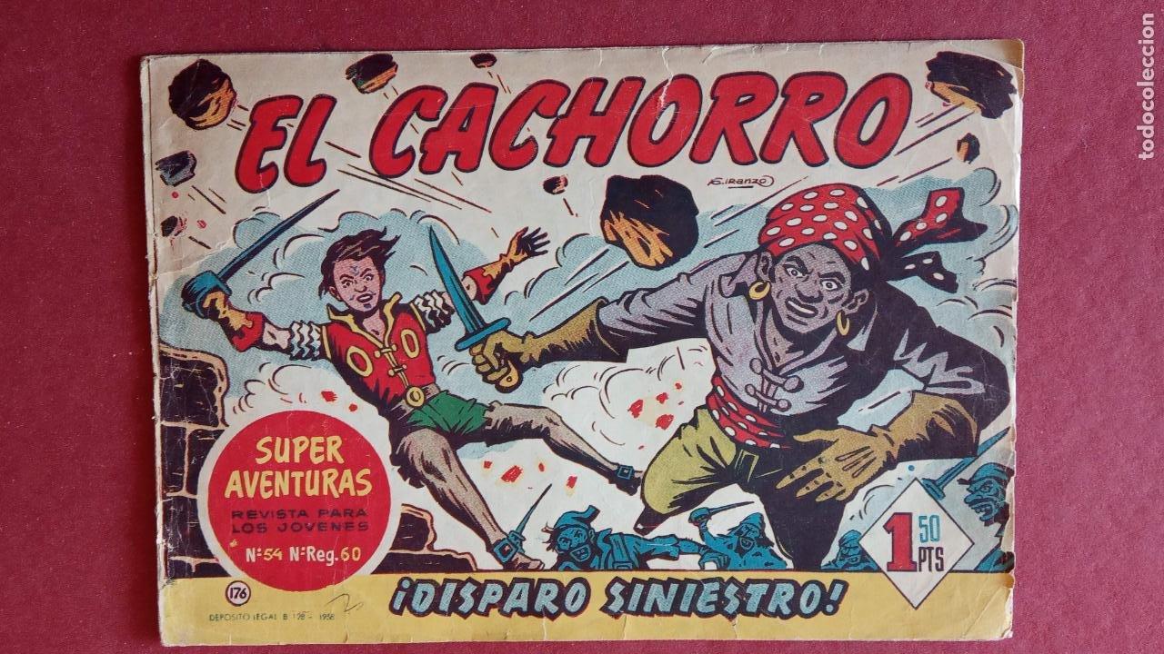 Tebeos: EL CACHORRO ORIGINALES 1951 BRUGUERA - 97 TEBEOS, VER TODAS LAS IMÁGENES DE PORTADAS Y CONTRAS - Foto 107 - 235576300