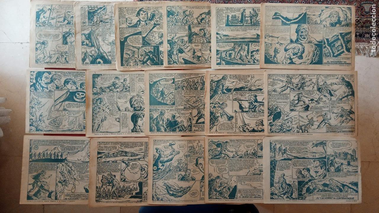 Tebeos: EL CACHORRO ORIGINALES 1951 BRUGUERA - 97 TEBEOS, VER TODAS LAS IMÁGENES DE PORTADAS Y CONTRAS - Foto 113 - 235576300