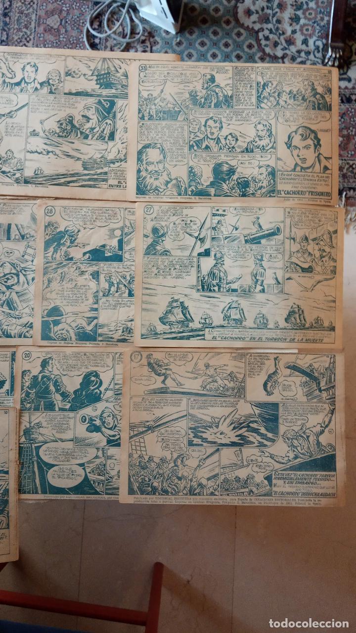 Tebeos: EL CACHORRO ORIGINALES 1951 BRUGUERA - 97 TEBEOS, VER TODAS LAS IMÁGENES DE PORTADAS Y CONTRAS - Foto 117 - 235576300