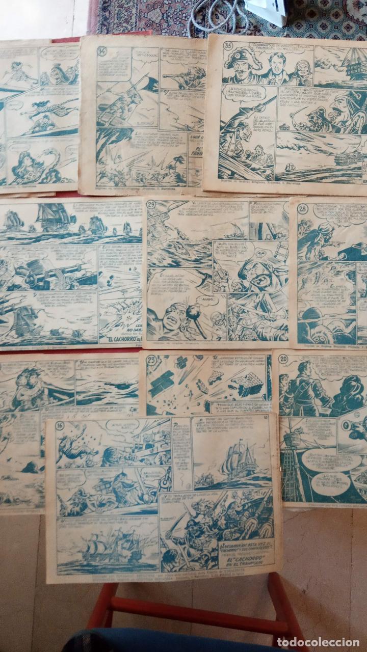 Tebeos: EL CACHORRO ORIGINALES 1951 BRUGUERA - 97 TEBEOS, VER TODAS LAS IMÁGENES DE PORTADAS Y CONTRAS - Foto 118 - 235576300