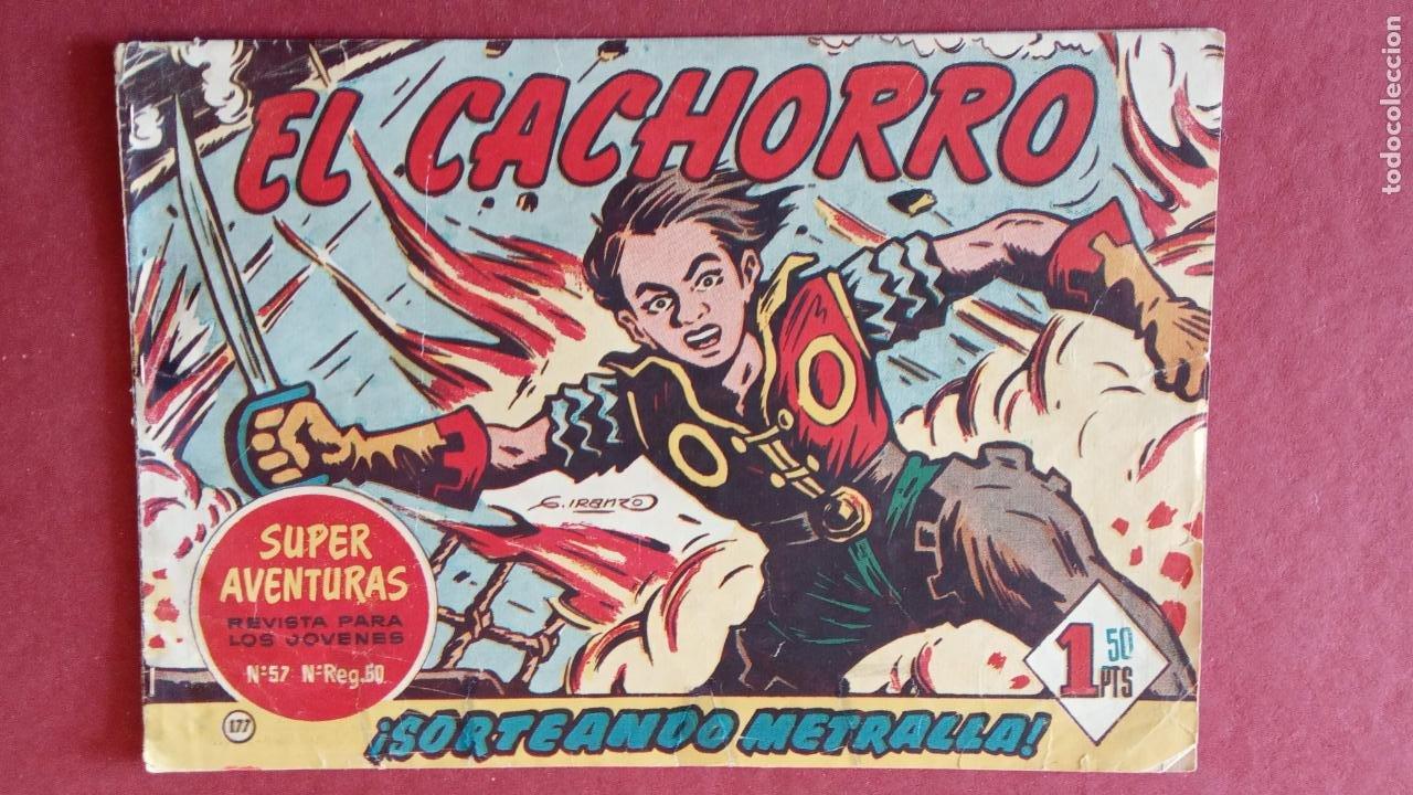 Tebeos: EL CACHORRO ORIGINALES 1951 BRUGUERA - 97 TEBEOS, VER TODAS LAS IMÁGENES DE PORTADAS Y CONTRAS - Foto 119 - 235576300