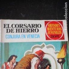 Tebeos: EL CORSARIO DE HIERRO Nº 65. Lote 235576585