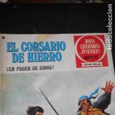 Tebeos: EL CORSARIO DE HIERRO Nº42. Lote 235577135