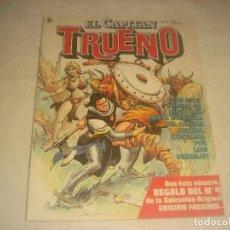 Tebeos: EL CAPITAN TRUENO N. 9 , AÑO I , 1986.. Lote 235580265