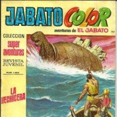 Tebeos: JABATO COLOR Nº 142 - 1ª EPOCA - AVENTURAS DE EL JABATO. Lote 235697450