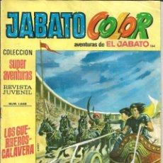 Tebeos: JABATO COLOR Nº 134 - 1ª EPOCA - AVENTURAS DE EL JABATO. Lote 235698075