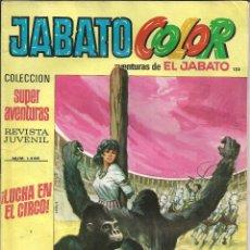 Tebeos: JABATO COLOR Nº 133 - 1ª EPOCA - AVENTURAS DE EL JABATO. Lote 235698245