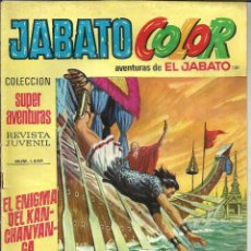 Tebeos: JABATO COLOR Nº 130 - 1ª EPOCA - AVENTURAS DE EL JABATO. Lote 235698505
