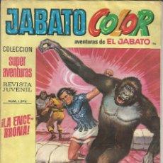 Tebeos: JABATO COLOR Nº 96 - 1ª EPOCA - AVENTURAS DE EL JABATO. Lote 235699430