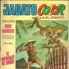 Tebeos: JABATO COLOR Nº 93 - 1ª EPOCA - AVENTURAS DE EL JABATO. Lote 235699925