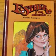 Livros de Banda Desenhada: ESTHER Y SU MUNDO VOL.9 PURITA CAMPOS - EDICION TOMO TAPA DURA SALVAT -. Lote 235717595