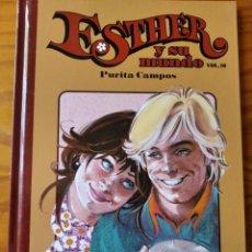 Livros de Banda Desenhada: ESTHER Y SU MUNDO VOL.10 PURITA CAMPOS - EDICION TOMO TAPA DURA SALVAT -. Lote 235717635
