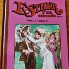 Livros de Banda Desenhada: ESTHER Y SU MUNDO VOL.12 PURITA CAMPOS - EDICION TOMO TAPA DURA SALVAT -. Lote 235717745