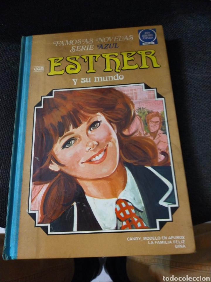 TOMO 6 ESTHER FAMOSAS NOVELAS SERIE AZUL (Tebeos y Comics - Bruguera - Esther)