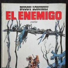 Tebeos: BUDDY LONGWAY - EL ENEMIGO - JET BRUGUERA Nº 7 - 1983. Lote 235858260