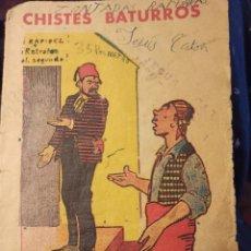Tebeos: CHISTES BATURROS, MAÑO ARAGON EDITORIAL BRUGUERA. Lote 235870275