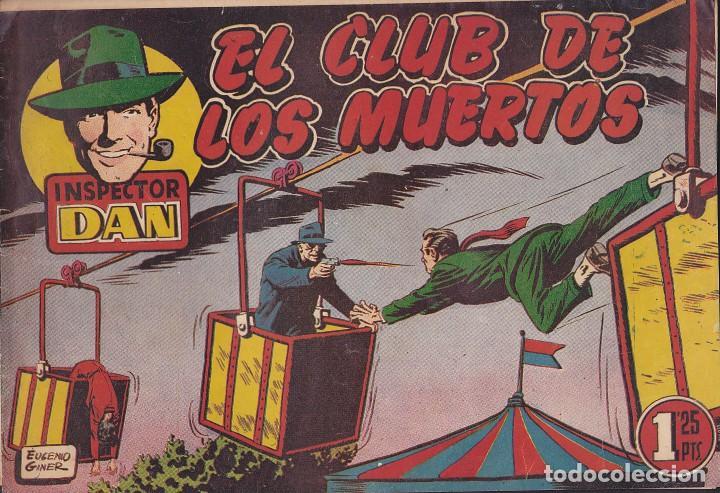 COMIC COLECCION INSPECTOR DAN Nº 19 (Tebeos y Comics - Bruguera - Inspector Dan)