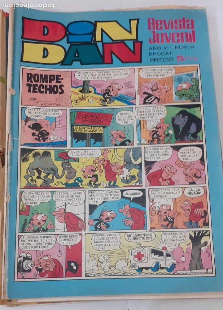 DIN DAN Nº 109 - BRUGUERA 1970 - EL DE LA FOTO, BIEN (Tebeos y Comics - Bruguera - Din Dan)