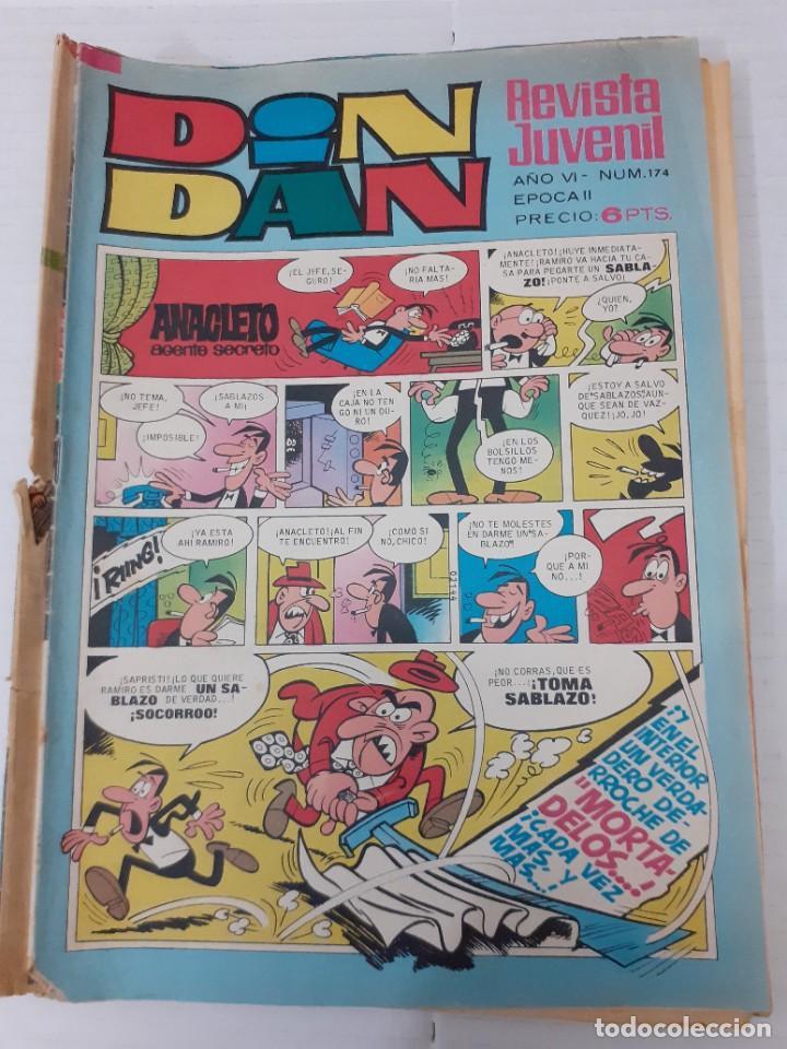 DIN DAN Nº 174 - BRUGUERA 1971 - EL DE LA FOTO, BIEN (Tebeos y Comics - Bruguera - Din Dan)