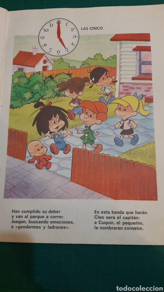 Tebeos: QUE HORA ES LA FAMILIA TELERIN EB 1965 José LUIS Moro ANGEL CARMONA Barcelona BRUGUERA - Foto 4 - 235997600