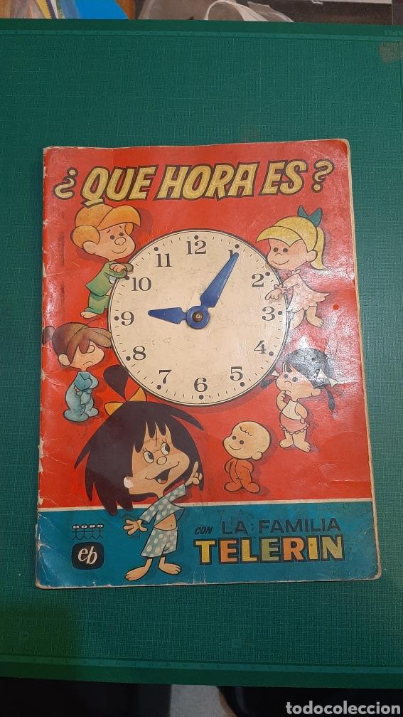 QUE HORA ES LA FAMILIA TELERIN EB 1965 JOSÉ LUIS MORO ANGEL CARMONA BARCELONA BRUGUERA (Tebeos y Comics - Bruguera - Tele Color)