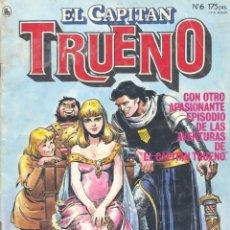 Tebeos: CAPITÁN TRUENO Nº6. LUIS BERMEJO, JESÚS BLASCO, JESÚS REDONDO, ESTEBAN MAROTO.... Lote 236014290