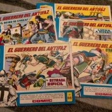Livros de Banda Desenhada: EL GUERRERO DEL ANTIFAZ.COMPLETA. Lote 236026445