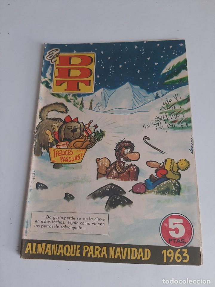 DDT,ALMANAQUE PARA NAVIDAD 1963.ORIGINAL DE EPOCA. (Tebeos y Comics - Bruguera - DDT)