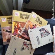 Tebeos: LOTE 5 TEBEOS / CÓMIC COLECCIÓN HISTORIAS JUVENIL Y COLOR BRUGUERA 1968 A 1975 1 EDICIÓN 1972. Lote 236138225