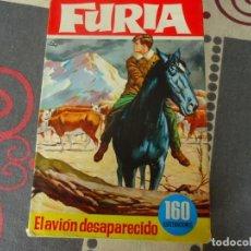 Tebeos: FURIA, EL AVION DESAPARECIDO. Lote 236147180