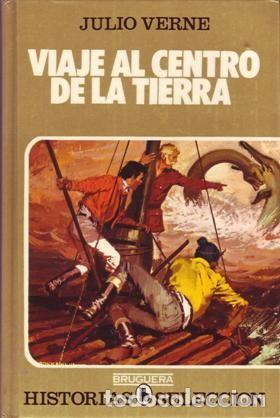 VIAJE AL CENTRO DE LA TIERRA. JULIO VERNE. EDITORIAL BRUGUERA. ESPAÑA. HISTORIAS SELECCIÓN 1982. (Tebeos y Comics - Bruguera - Historias Selección)