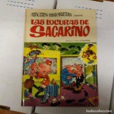 Giornalini: LAS LOCURAS DE SACARINO ALEGRES HISTORIETAS BRUGUERA 1ª EDICIÓN 1971 ¡¡ FIRMADO POR IBAÑEZ!!. Lote 236427635