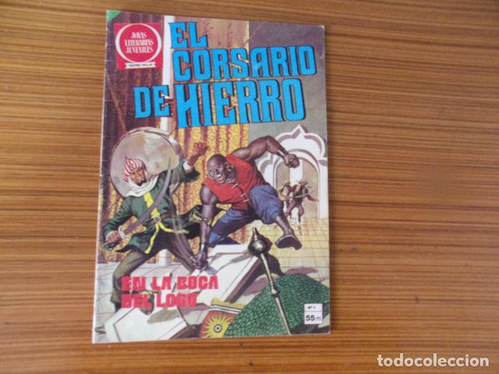 EL CORSARIO DE HIERRO Nº 4 EDITA BRUGUERA (Tebeos y Comics - Bruguera - Joyas Literarias)