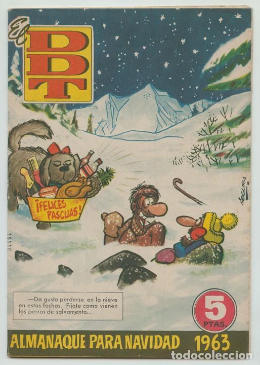 EL DDT - ALMANAQUE PARA NAVIDAD 1963 - ED. BRUGUERA - 1962 (Tebeos y Comics - Bruguera - DDT)