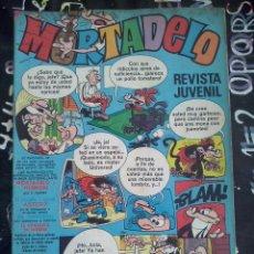 Tebeos: BRUGUERA - MORTADELO REVISTA JUVENIL NUM. 119 ( 7 PTS. ). Lote 236533180
