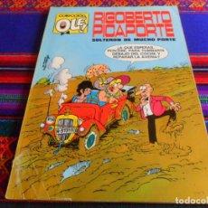 Tebeos: OLÉ Nº 7 RIGOBERTO PICAPORTE. BRUGUERA 1971 1ª PRIMERA EDICIÓN. 40 PTS. SOLTERÓN DE MUCHO PORTE.. Lote 236690220