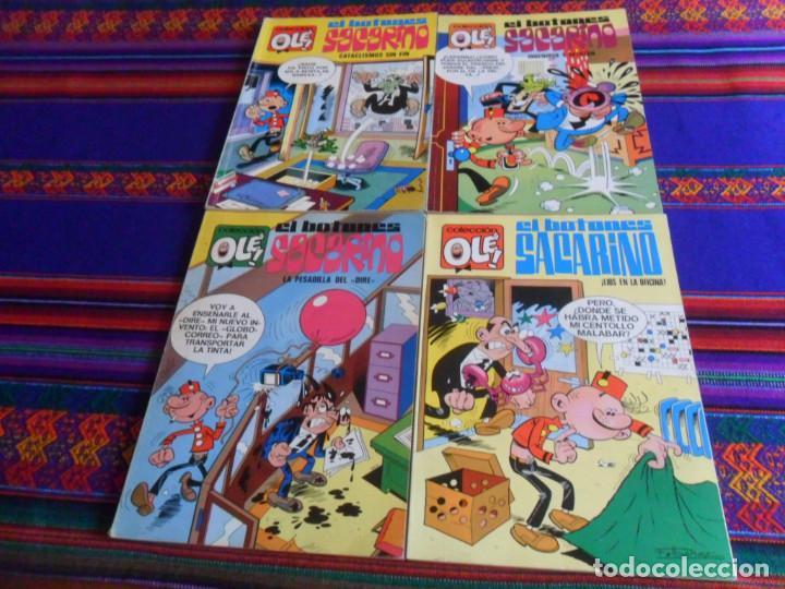BUEN ESTADO OLÉ NºS 3, 53, 68 Y 84 EL BOTONES SACARINO. BRUGUERA 1ª PRIMERA EDICIÓN Nº LOMO. 1971. (Tebeos y Comics - Bruguera - Ole)