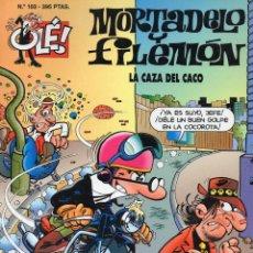 Tebeos: OLÉ!, Nº 103, 1998, 2ª EDICIÓN. MORTADELO Y FILEMÓN, LA CAZA DEL CACO. Lote 236770280