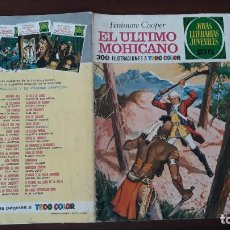 BDs: JOYAS LITERARIAS JUVENILES BRUGUERA Nº 12 EL ÚLTIMO MOHICANO 1ª EDICIÓN 1970. Lote 236780780
