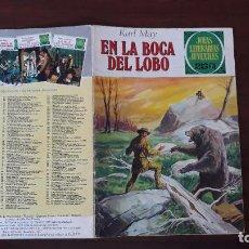 BDs: JOYAS LITERARIAS JUVENILES BRUGUERA Nº 176 EN LA BOCA DEL LOBO 1ª EDICIÓN 1974. Lote 236781680