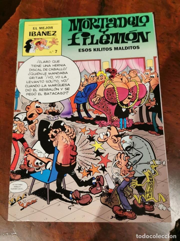 EL MEJOR IBAÑEZ N 7 MORTADELO Y FILEMON - ESOS QUILITOS MALDITOS - PERFECTO ESTADO (Tebeos y Comics - Bruguera - Mortadelo)