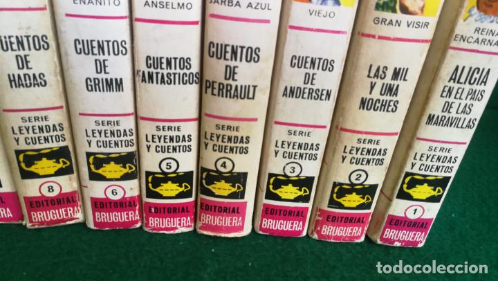 Tebeos: HISTORIAS SELECCIÓN - SERIE LEYENDAS Y CUENTOS COMPLETA1 (10) - ANDERSEN CARROL GRIMM HOFFMANN - Foto 4 - 236827410
