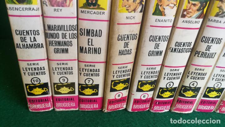 Tebeos: HISTORIAS SELECCIÓN - SERIE LEYENDAS Y CUENTOS COMPLETA1 (10) - ANDERSEN CARROL GRIMM HOFFMANN - Foto 5 - 236827410