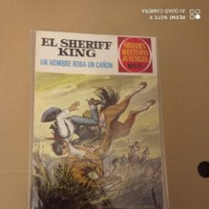 Tebeos: EL SHERIFF KING Nº 34. Lote 236914205