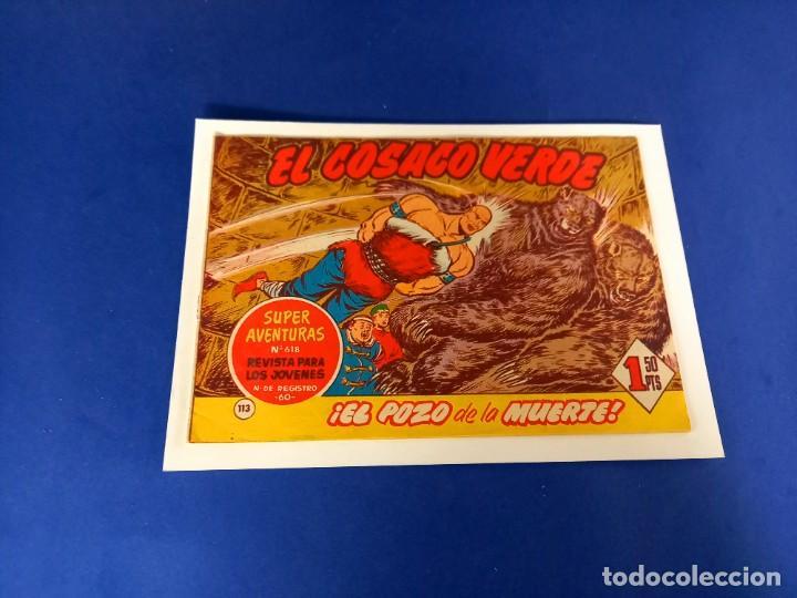 COSACO VERDE- Nº 113 - ORIGINAL (Tebeos y Comics - Bruguera - Cosaco Verde)