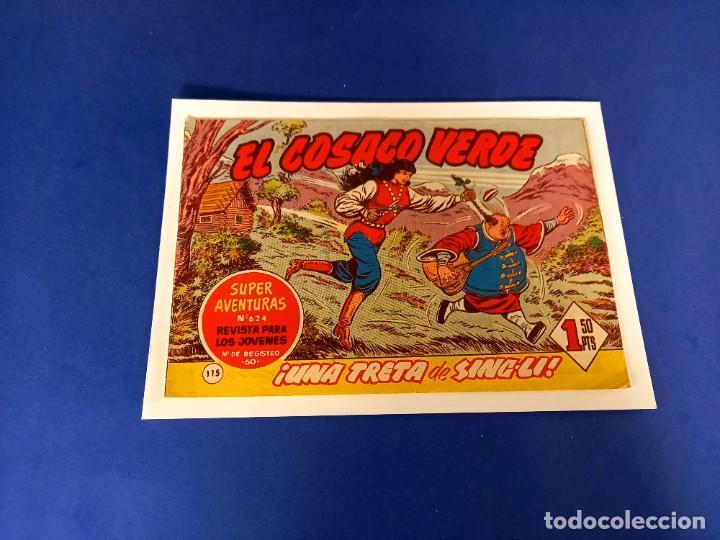 COSACO VERDE- Nº 115 - ORIGINAL (Tebeos y Comics - Bruguera - Cosaco Verde)