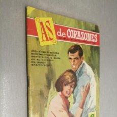 Tebeos: AS DE CORAZONES Nº 267: UN AMOR EN EL ABISMO / ED. BRUGUERA. Lote 237094015
