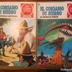 Tebeos: COMIC JOYAS LITERARIAS JUVENILES SERIE ROJA Nº 26 -39 DEL CORSARIO DE HIERRO. Lote 237134570