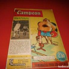 Tebeos: EL CAMPEON Nº 82 - BRUGUERA. Lote 237175680